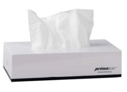 Obrázek Zásobník na papírové kapesníčky -  na 100 ks / bílý