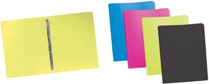 Obrázek Desky A4 kroužkové neprůsvitné - 4 - kroužek / azur