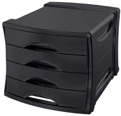 Obrázek Zásuvkový box Esselte Vivida - černá