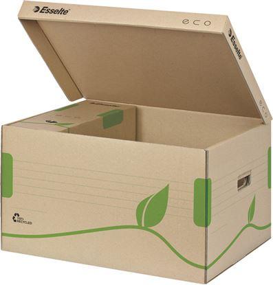 Obrázek Archivní kontejnery ECO - na pořadače / s víkem / 623918