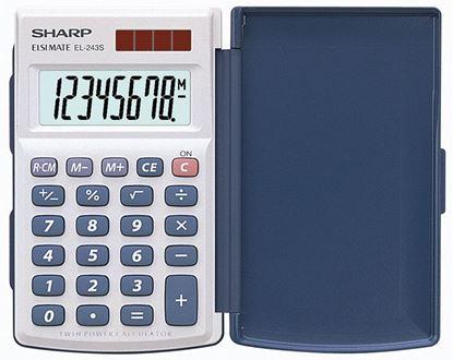 Obrázek Kalkulačka Sharp EL 243S - displej 8 míst