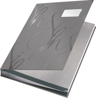 Obrázek Designová podpisová kniha Leitz - šedá