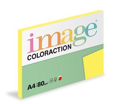 Obrázek Xerografický papír BAREVNÝ - Canary/ středně žlutá / 100 listů / CY39