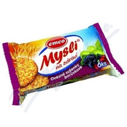 Obrázek Emco musli sušenky - borůvkové / 60 g