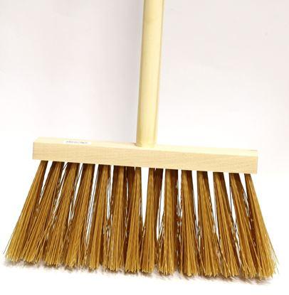 Obrázek Koště dřevěné - koště + tyč