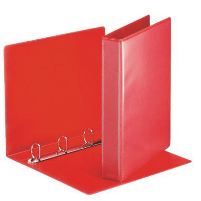 Obrázek Esselte pořadač A4 kroužkový prezentační 5,1 cm 4-kroužek červená