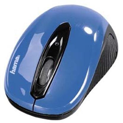 Obrázek Myš Hama AM bezdrátová -  AM  7200 / modrá