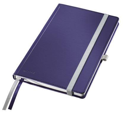 Obrázek Kniha záznamní Leitz Style - A5 / titanově modrá