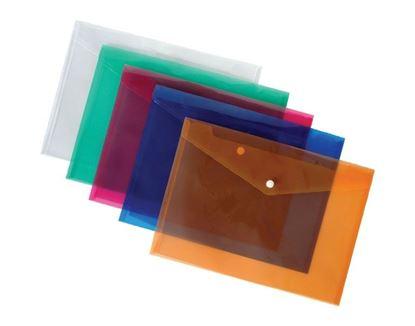 Obrázek Spisové desky s drukem - A4 / oranžová