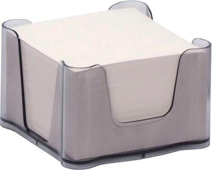 Obrázek Zásobník na záznamní kostky - transparentní / šedá