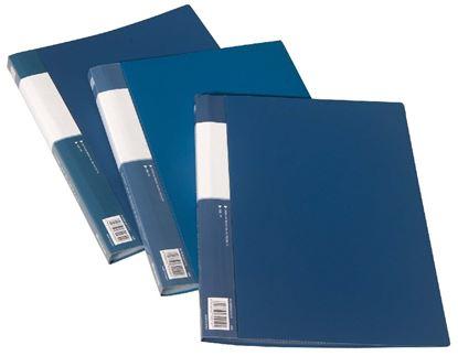 Obrázek Prezentační desky A4 - 10 kapes / modrá
