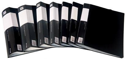Obrázek Prezentační desky A4 - 80 kapes / černá