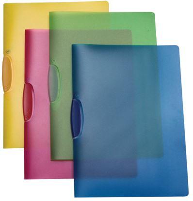 Obrázek Desky A4 Clip - kapacita 25 listů / žlutá