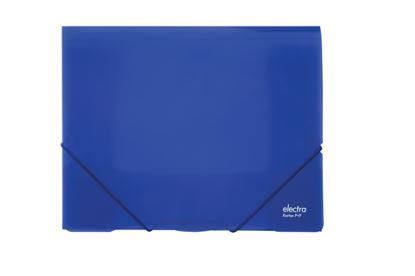 Obrázek Spisové desky A4 s gumou Electra -  tmavě modrá