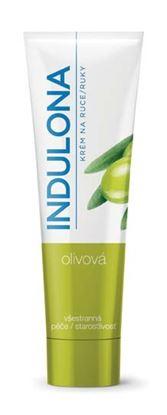 Obrázek Krém na ruce Indulona - zelená / olivová / 85 ml