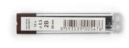 Obrázek Tuhy do mikrotužek KOH-i-NOOR - 0,5 mm / 2B