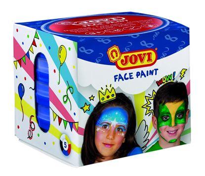 Obrázek Obličejové barvy JOVI - 6 x 8 ml / základní barvy