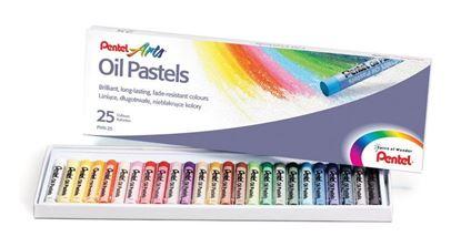 Obrázek Olejové pastely - 25 barev