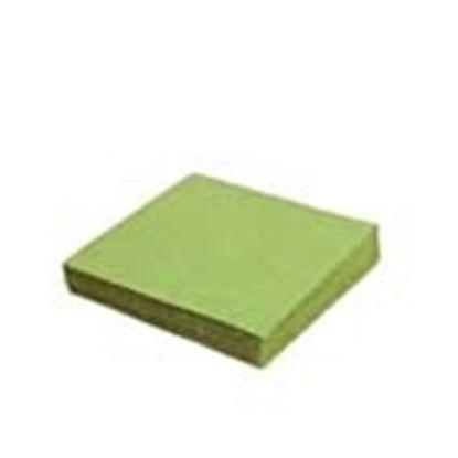 Obrázek Ubrousky papírové barevné třívrstvé - 33 cm x 33 cm / zelené / 20 ks