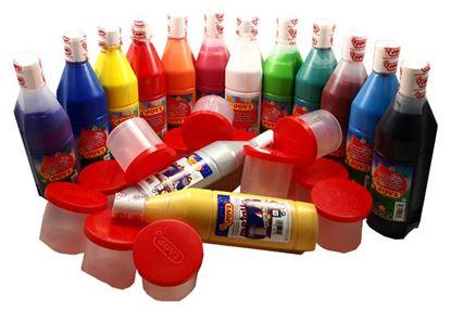 Obrázek Tekuté temperové barvy JOVI box -  4 x 500 ml