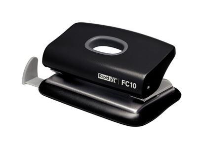 Obrázek Kancelářský děrovač Rapid FC10 - černá