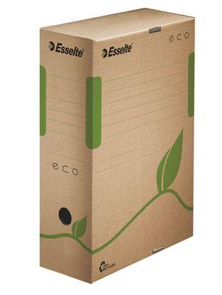Obrázek Archivní boxy ECO - hřbet 10 cm / hnědá