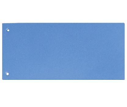 Obrázek Rozdružovací kartonové jazyky  - modrá / 100 ks