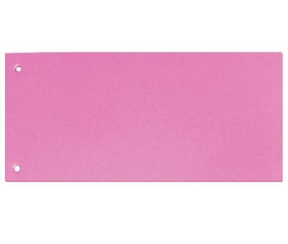 Obrázek Rozdružovací kartonové jazyky  - růžová / 100 ks