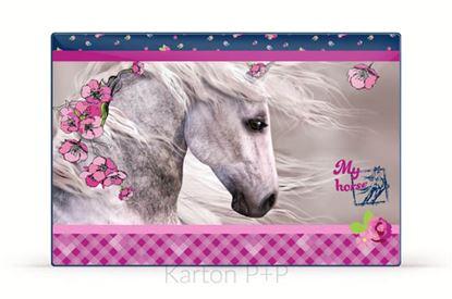 Obrázek Pracovní podložka s obrázkem - kůň