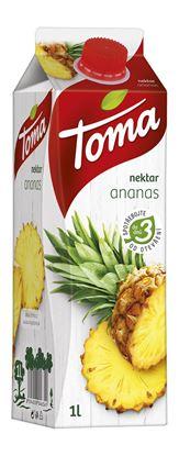 Obrázek Toma džusy 1 l  -  ananas nektar