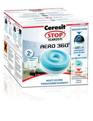 Obrázek Ceresit STOP VLHKOSTI AERO 360°  -  náhradní tablety 2 x 450 g