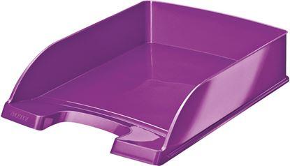 Obrázek Kancelářský box Leitz PLUS WOW - fialová