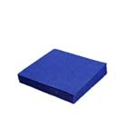 Obrázek Ubrousky papírové barevné třívrstvé - 33 cm x 33 cm / modré / 20 ks
