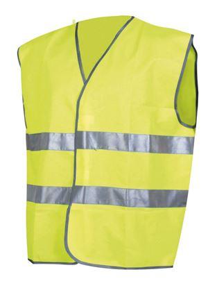 Obrázek Reflexní vesta - žlutá