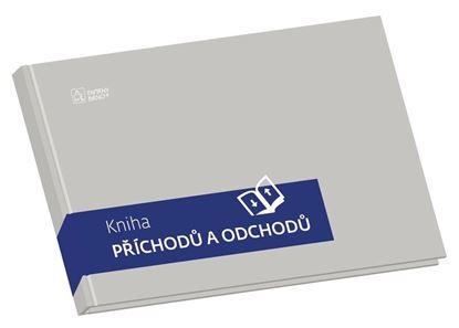 Obrázek Kniha příchodů a odchoců - pevné desky - A4 / 100 listů