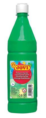 Obrázek Tekuté temperové barvy JOVI v lahvi -  1000 ml / zelená