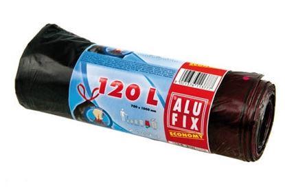 Obrázek Alufix Economy pytle do košů 70x100 cm 120 l 10 ks
