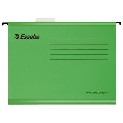 Obrázek Závěsné desky Esselte Classic Collection - zelená
