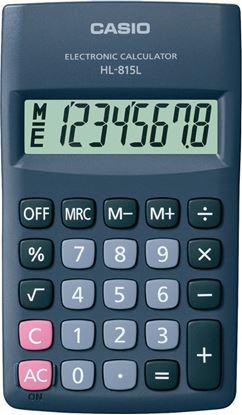 Obrázek Kalkulačka Casio HL815L - displej 8 míst / šedá