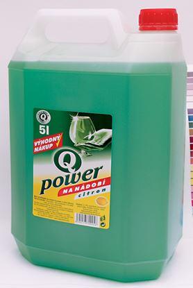 Obrázek Q-Power citron prostředek na nádobí 5 l
