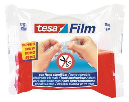 Obrázek Lepicí páska Tesa rukou trhatelná -  19 mm x 25 m