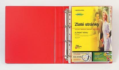 Obrázek Závěsný obal A4 s rozšířenou kapacitou Esselte - závěsný bez chlopně / 10 ks