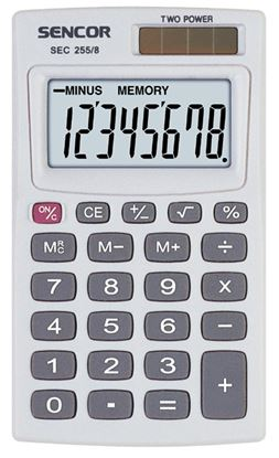 Obrázek Kalkulačka Sencor SEC 255 - displej 8 míst