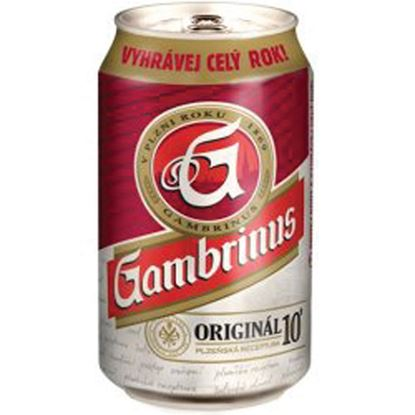 Obrázek Pivo 10 % / v plechovce / 0,33 l