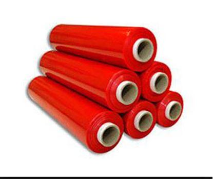 Obrázek Fólie smršťovací barevná - šíře 50 cm / 2,2 kg / 23 my / červená