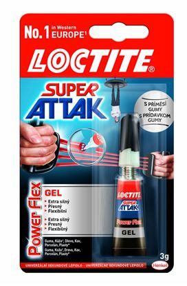 Obrázek Vteřinová lepidla Loctite - Super Attak 3 g