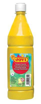 Obrázek Tekuté temperové barvy JOVI v lahvi - 1000 ml / žlutá