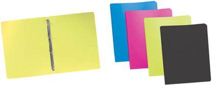 Obrázek Desky A4 kroužkové neprůsvitné - 4 - kroužek / antracit