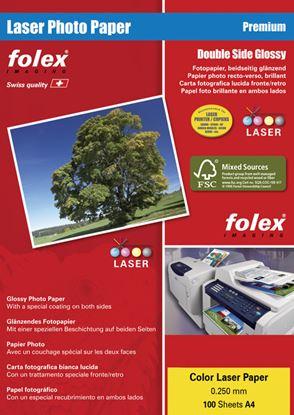 Obrázek Fotopapíry CLP Photo paper pro laserové tiskárny - A4 170 g / 100 listů