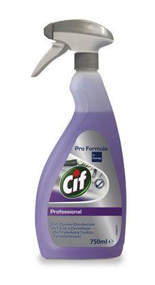 Obrázek Cif Professional čistič / dezinfekce - 750 ml s rozprašovačem